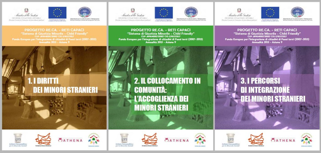 Progetto Re.Ca. – Reti Capaci 'Sistema di Giustizia Minorile – Child Friendly'