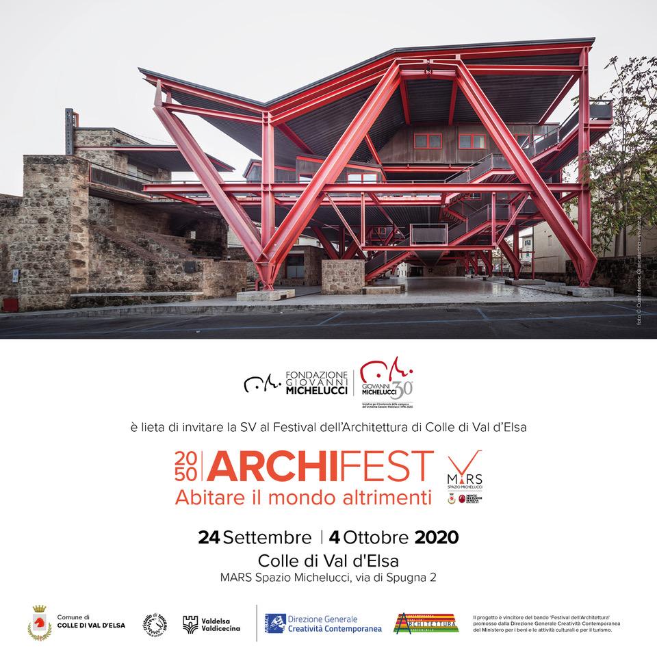 Invito - 2050 ArchiFest – abitare il mondo altrimenti