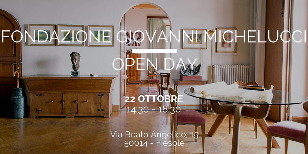 Open Day alla Fondazione Michelucci