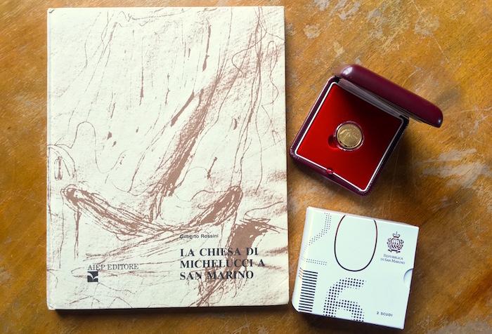 moneta michelucci a San Marino