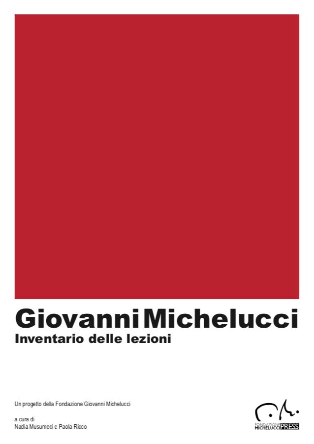 Inventario Lezioni Universitarie - Archivio Fondazione Giovanni Michelucci