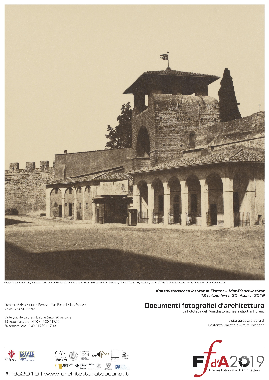 FFdA2019 – Documenti fotografici d'architettura. La Fototeca del Kunsthistorisches Institut in Florenz