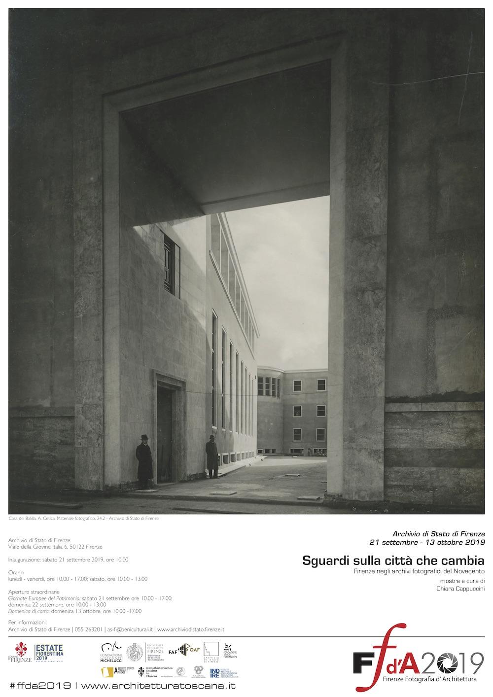 FFdA2019 - Sguardi sulla città che cambia. Firenze negli archivi fotografici del Novecento.