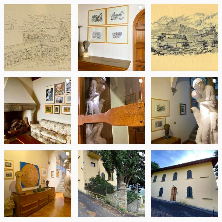 #michelucci30 #villailroseto – Campagna social dedicata alla scoperta di Villa Il Roseto