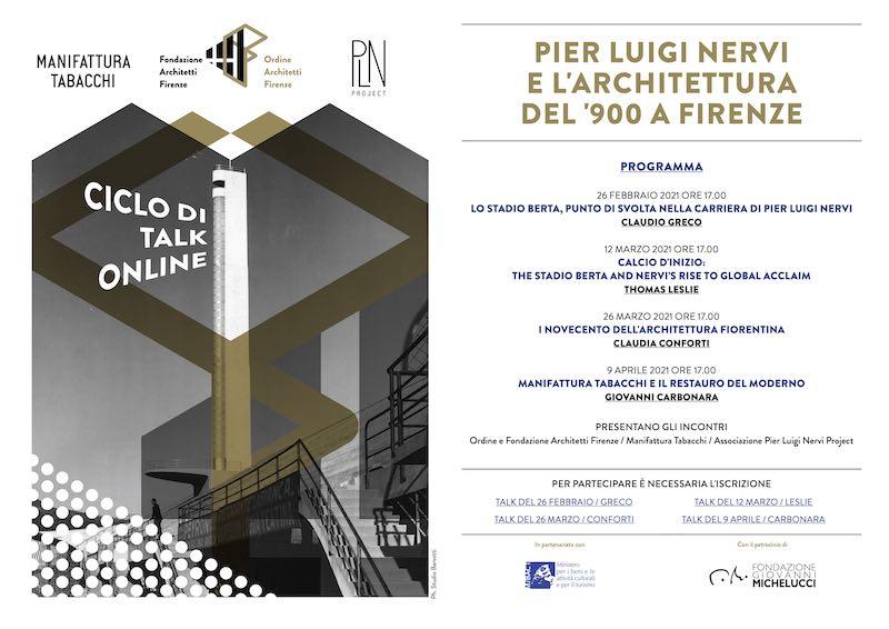Webinar – Pier Luigi Nervi e l'architettura del'900 a Firenze