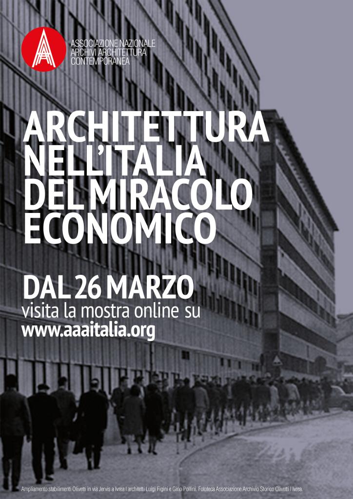 Mostra – Architettura nell'Italia del miracolo economico