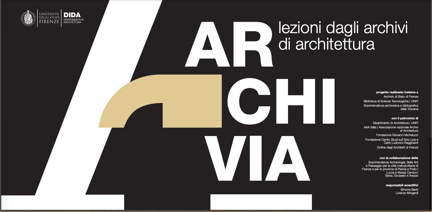 ARCHIVIA. Lezioni dagli archivi di Architettura