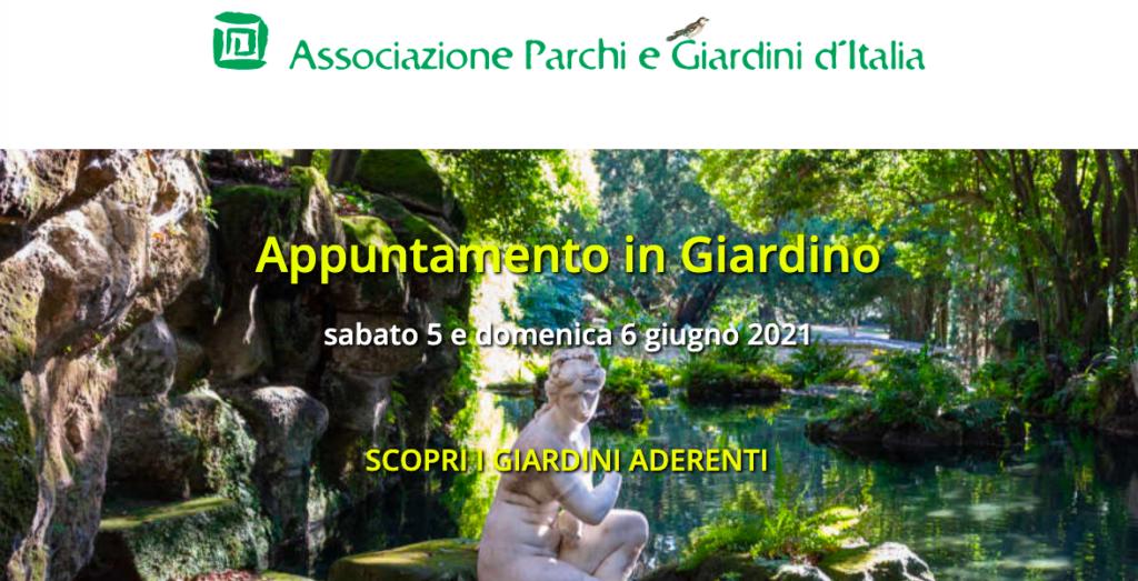 Visite guidate: Appuntamento in Giardino 2121