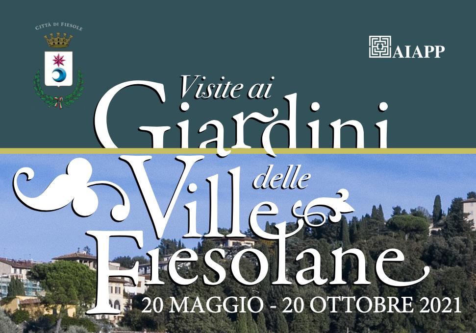 Visite ai Giardini delle Ville Fiesolane 2021