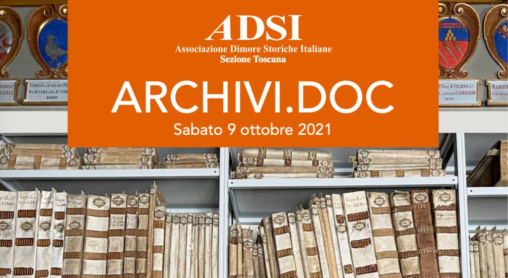 ARCHIVI.DOC la Fondazione Michelucci partecipa alla giornata promossa da ADSI Toscana